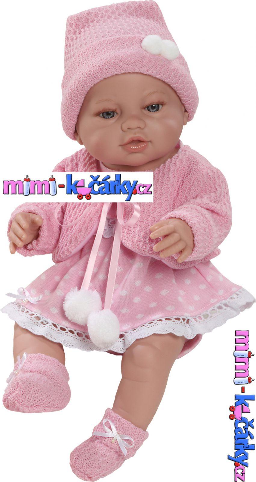 Velké miminko pro děti Berbesa Angels v oblečku 42cm