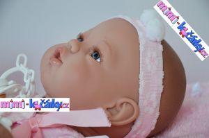 španělská realistická panenka Berbesa detail