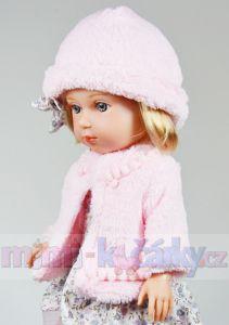 Česací panenka Arias Charlota v kloboučku