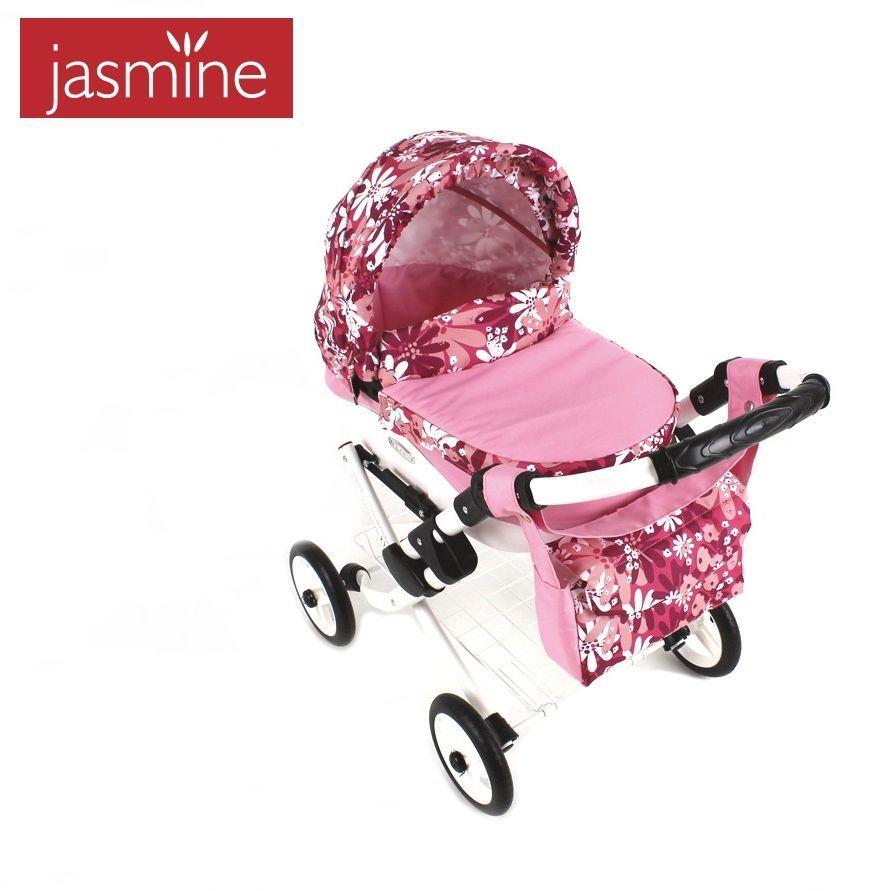 Kočárek pro panenky Jasmine Kids K22 pro děti od 3 let
