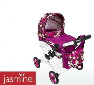 Velký kočárek pro panenky JASMINE Kids K16