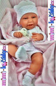Panenka jako miminko Antonio Juan Karla 42 cm