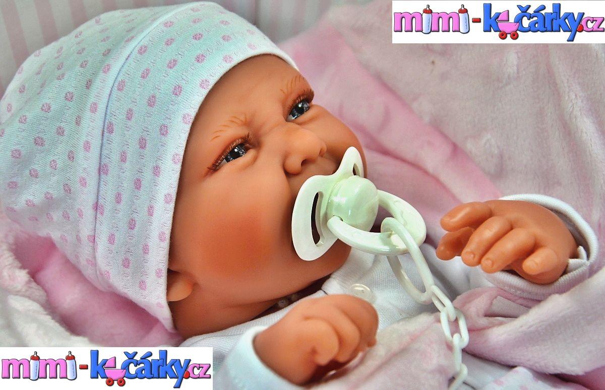 Panenka jako živé miminko Antonio Juan Karla
