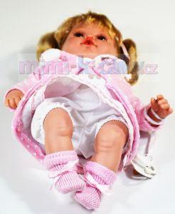 Mluvící panenka realistická Arias Ema 33 cm
