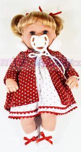 Realistická mluvící panenka Arias Ema
