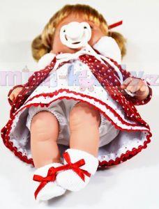 mluvící panenka Arias Ema červená