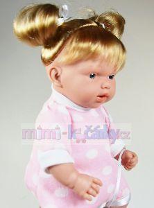 Mluvící realistická panenka Hanna v klokánce