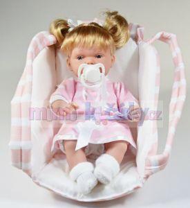 Mluvící realistická panenka Hanna s klokánkou