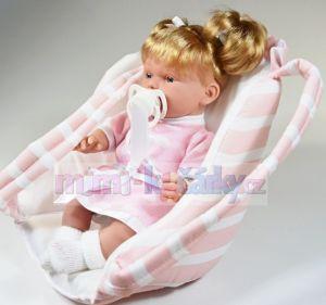 Realistická panenka Hanna 28 cm