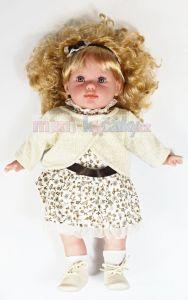 Mluvící, realistrická panenka Arias Danielka 38 cm