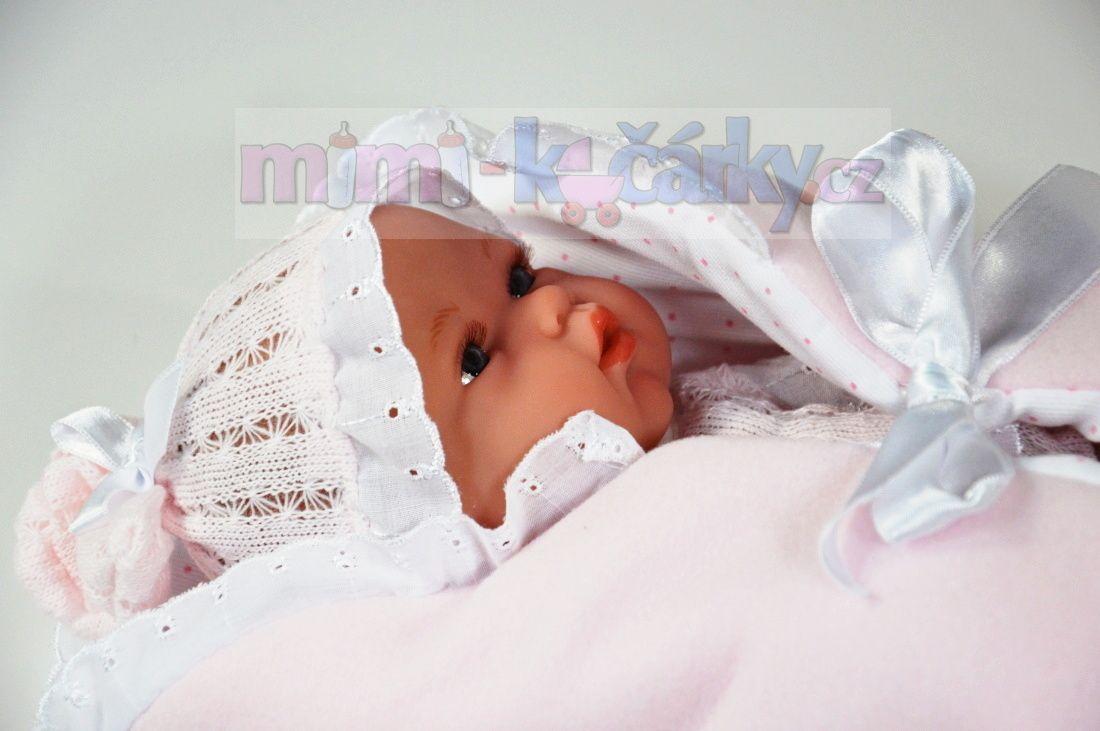 Panenka miminko koupací Arias Natalka se zavinovačkou