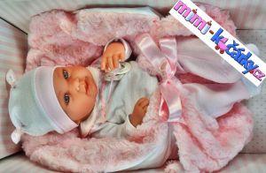 realistická panenka Antonio Juan s luxusní krabicí
