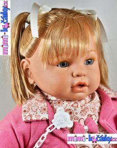 mluvící realistická panenka Berbesa Dulsone
