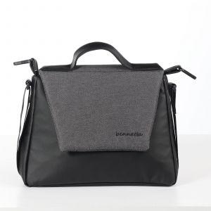 černá taška ke kočárku odpružený kočárek 2v1 JASMINE Bennetta Soft 02