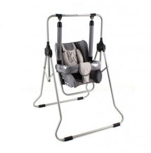 Houpačka pro kojence šedá