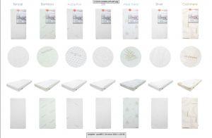 Detský matrac 120x60 Jasmine Silver