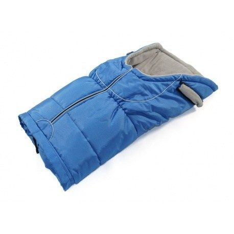 Zimný fusak do kočíka Jasmine modrý