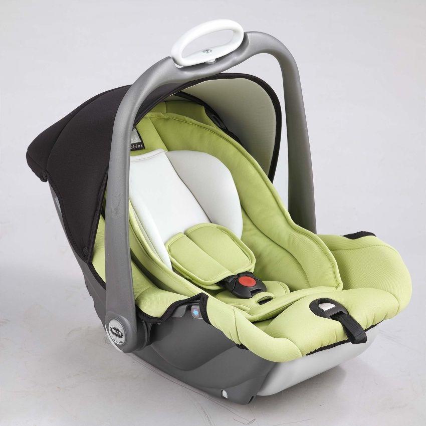 Autosedačka Roan Babies Millo 1-13 kg Autosedačka Roan green